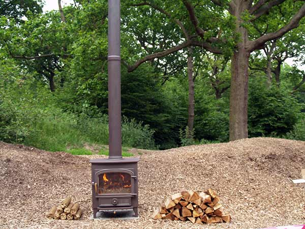 wood fuel from local woodlands