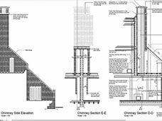 Chimney flue design