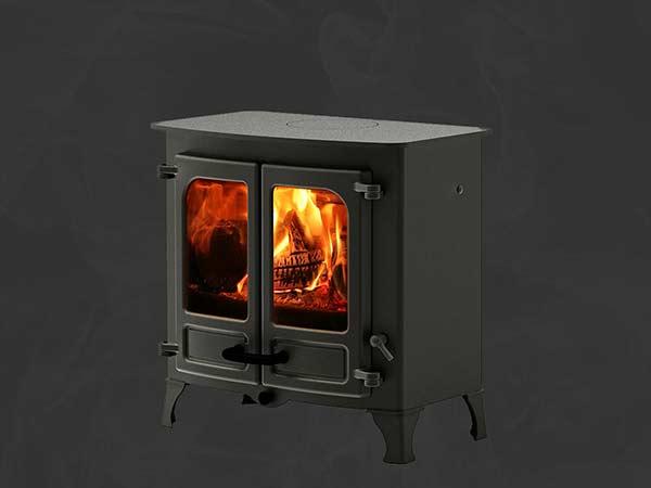 Medium size wood burner
