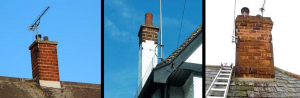 top of period chimneys