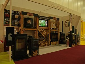 Scarlett Fireplaces exhibition